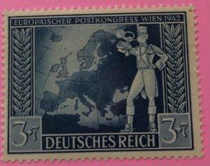 Germany B209 MNH Map