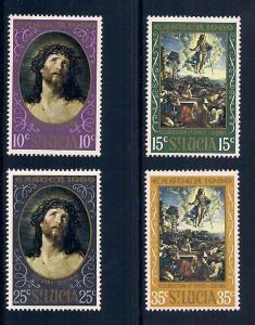 St. Lucia 245-248 Mint VF NH