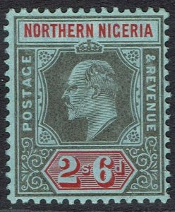 NORTHERN NIGERIA 1910 KEVII 2/6