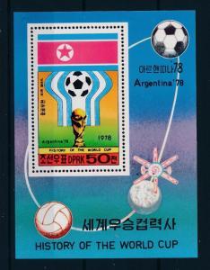 [60758] Korea 1978 World Cup Soccer Football Argentina MNH Sheet