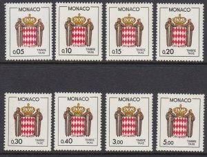 Monaco J77/88 Coat of Arms mnh