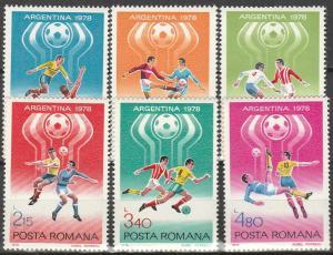 Romania #2761-6  MNH F-VF   CV $2.55 (V3818)