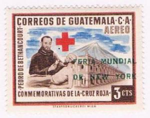 Guatemala C237 MNH Red Cross 1960 (G0370)