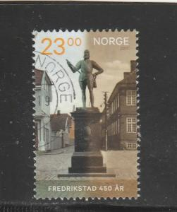 Norway  Scott#  1826  Used  (2017 450th Anniversary of Frederiksted)