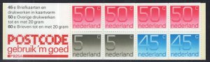 Netherlands 536e Booklet MNH VF