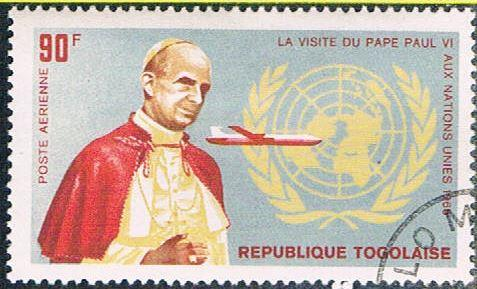 Togo C50 Used Pope Paul VI (BP11112)