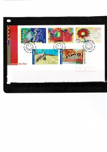 Australia 2001 Colour My Day FDC