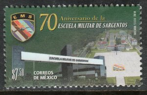 MEXICO 3121, MILITARY SCHOOL OF SERGEANTS, 70th ANNIV. MINT, NH. VF.