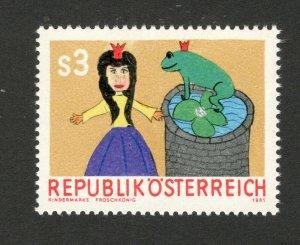 AUSTRIA-MNH STAMP-Art Education In Schools- 1981.