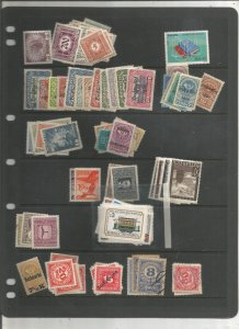 AUSTRIA COLLECTION ON STOCK SHEETS, BOTH MINT AN USED