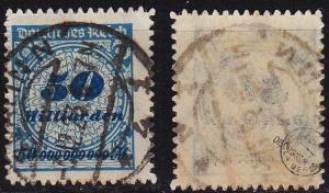 GERMANY REICH [1923] MiNr 0330 BP ( O/used ) [01] geprüft