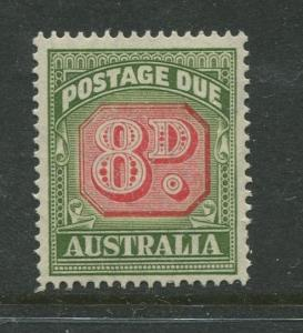 Australia - Scott J79 - Postage Due Issue -1957- Wmk 228 - MNH -Single 8 stamp