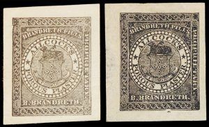U.S. REV. M & M's 35M3,3a  Mint (ID # 104554)