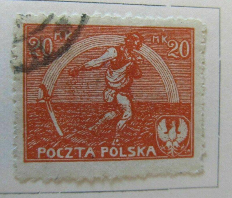 A5P40F117 Polen Poland 1921 20m used