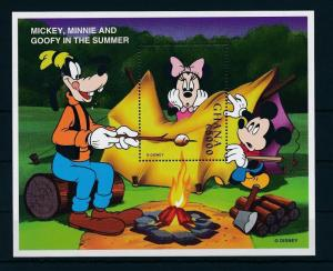 [22423] Ghana 1998 Disney Mickey Mouse Minnie Goofy in Summer MNH