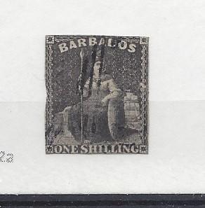 Barbados, 9, Britannia Single,**Used**