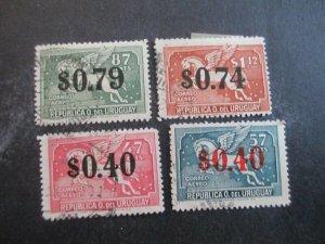 Uruguay #C106-09 Used WDWPhilatelic (H5K7)