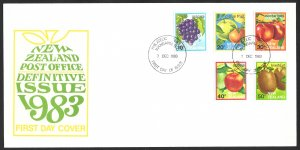 New Zealand First Day Cover [7803]
