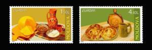 Moldova MNH Traditional Cuisine Europa 2005