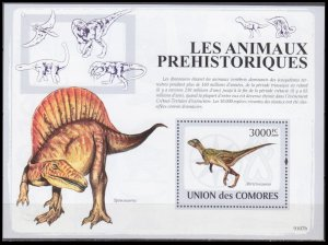 Comoro Island MNH S/S Dinosaurs 2009