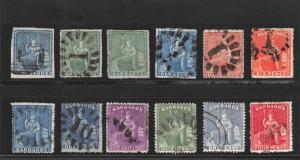 Lot of 20 Barbados Used Stamps Scott Range # 6 - 69 #141848 X