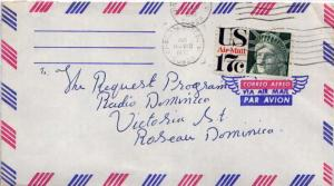 Airmail Issues 17c Statue of Liberty Air Issue 1972 Christiansted, VI 00820 ...