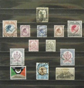 6195   Libya   Used # 22,139,141-44,162-65,208,C60,1N1   CV$ 14.30