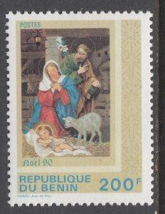 Benin 679 Christmas MNH VF