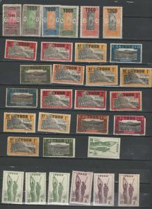 Togo stamp collection