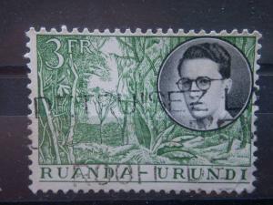 RUANDA URUNDI, 1955, used 3f, African Views, Scott 134