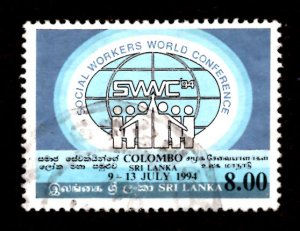 Sri Lanka 1994 World Conf. Federation of Social Workers, Colombo 8r Sc.1104 (#6)