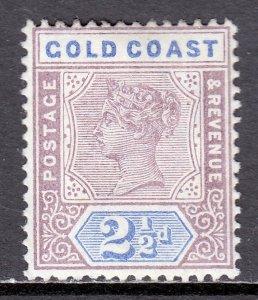 Gold Coast - Scott #29 - MH - Pencil on reverse - SCV $8.50