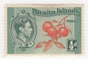 Pitcairn Islands, Scott # 1, MH