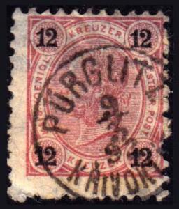 Austria Scott 56 Used.