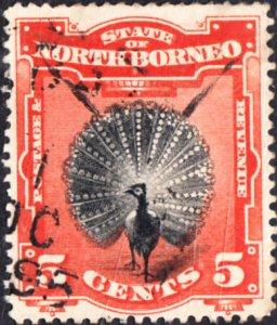 North  Borneo #83 Used