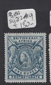BRITISH EAST AFRICA (PP2007BB)  QV LION 1R  SG 82  VLH  MOG