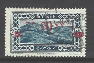 Syria Sc # 195 used (RS)