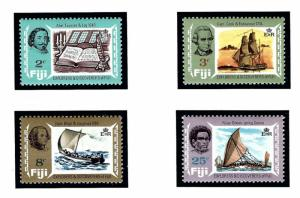 Fiji 293-96 MNH 1970 Explorers and Discoverers of Fiji