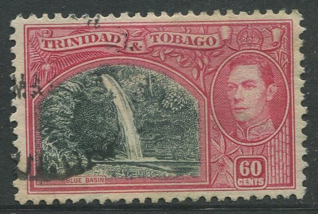 STAMP STATION PERTH Trinidad &Tobago #59 KGVI Pictorial Definitive Used 1938-41