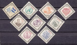 J27755 1953 honduras set mnh w/2 mlh #co60-8 united nations
