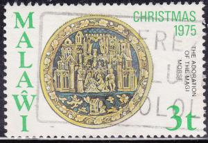 Malawi 264 USED 1975 Adoration of the Kings, French