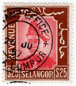 (I.B-BOB) Malaya States Revenue : Selangor Duty $25