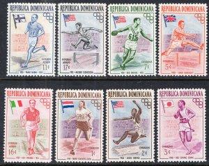 Dominican Republic 474-478,C97-C99 Summer Olympics MNH VF