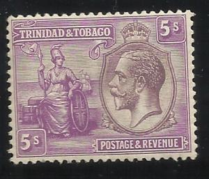 Trinidad and Tobago SC 30 5sh MH VF