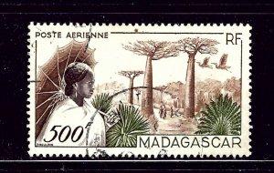 Madagascar C56 Used 1952 issue