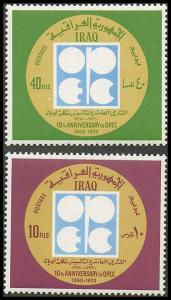 Iraq 577-578 Mint VF NH