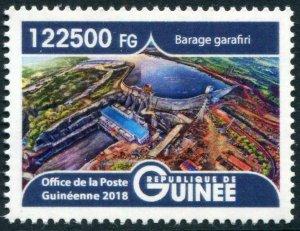 HERRICKSTAMP NEW ISSUES GUINEA Garafiri Dam High Face Value