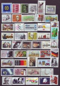 J24594 JLstamps various 1984-6 germany mnh #1414-up