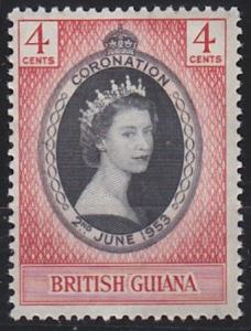 British Guiana 252 MNH (1953)