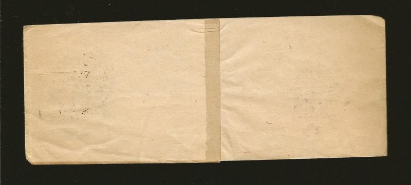 Austria Postmaked Wien 1905 Newspaper Wrapper Front Only